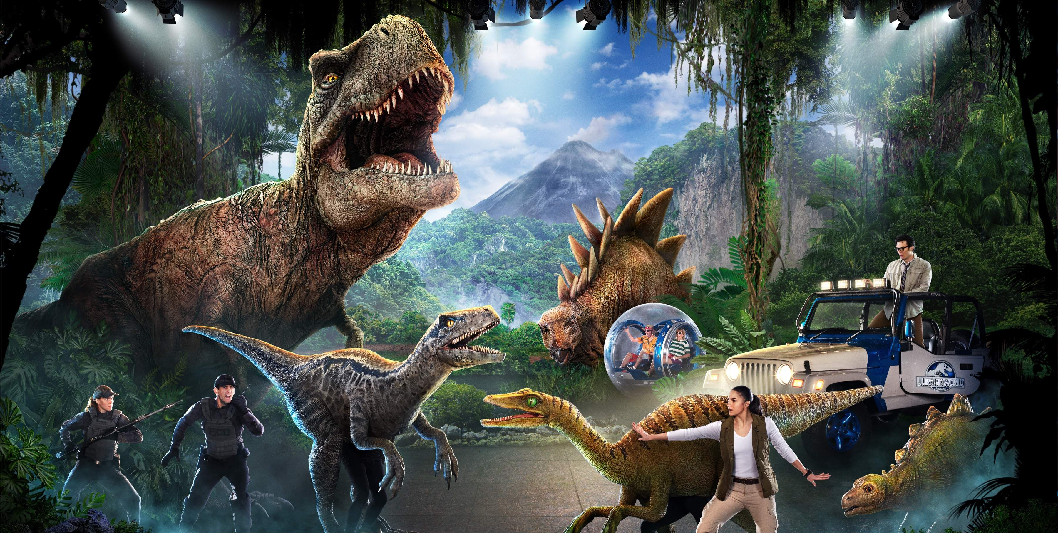 Jurassic World Live Tour!